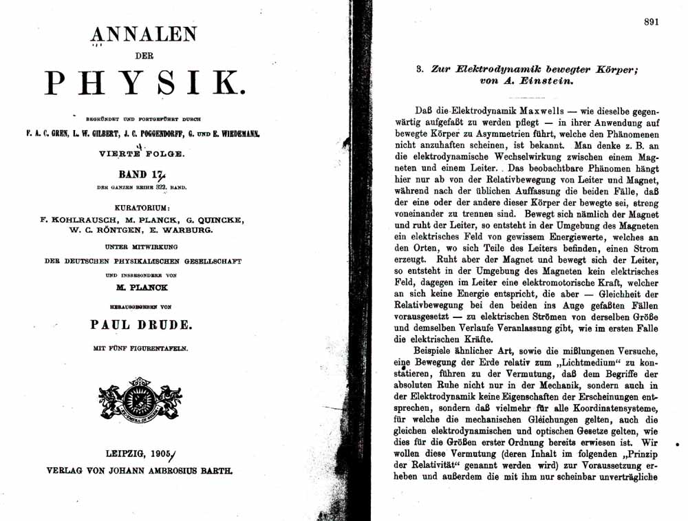 essays by einstein Hoffmann, albert einstein: creator and rebel (new york: viking, 1972), p 18 t a  einstein, essays in science (new york: philosophical library, 1934), p 114.